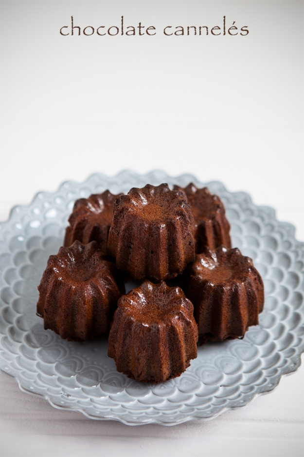 chocolate cannele